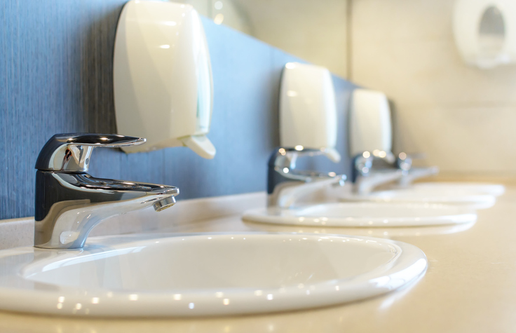commercial cleaning service | Restrooms